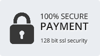 100% Secure Payment